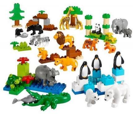 Vilde Dyr Lego Duplo Education 45012